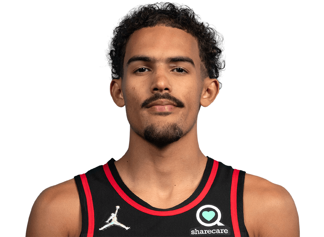 Trae Young Headshot