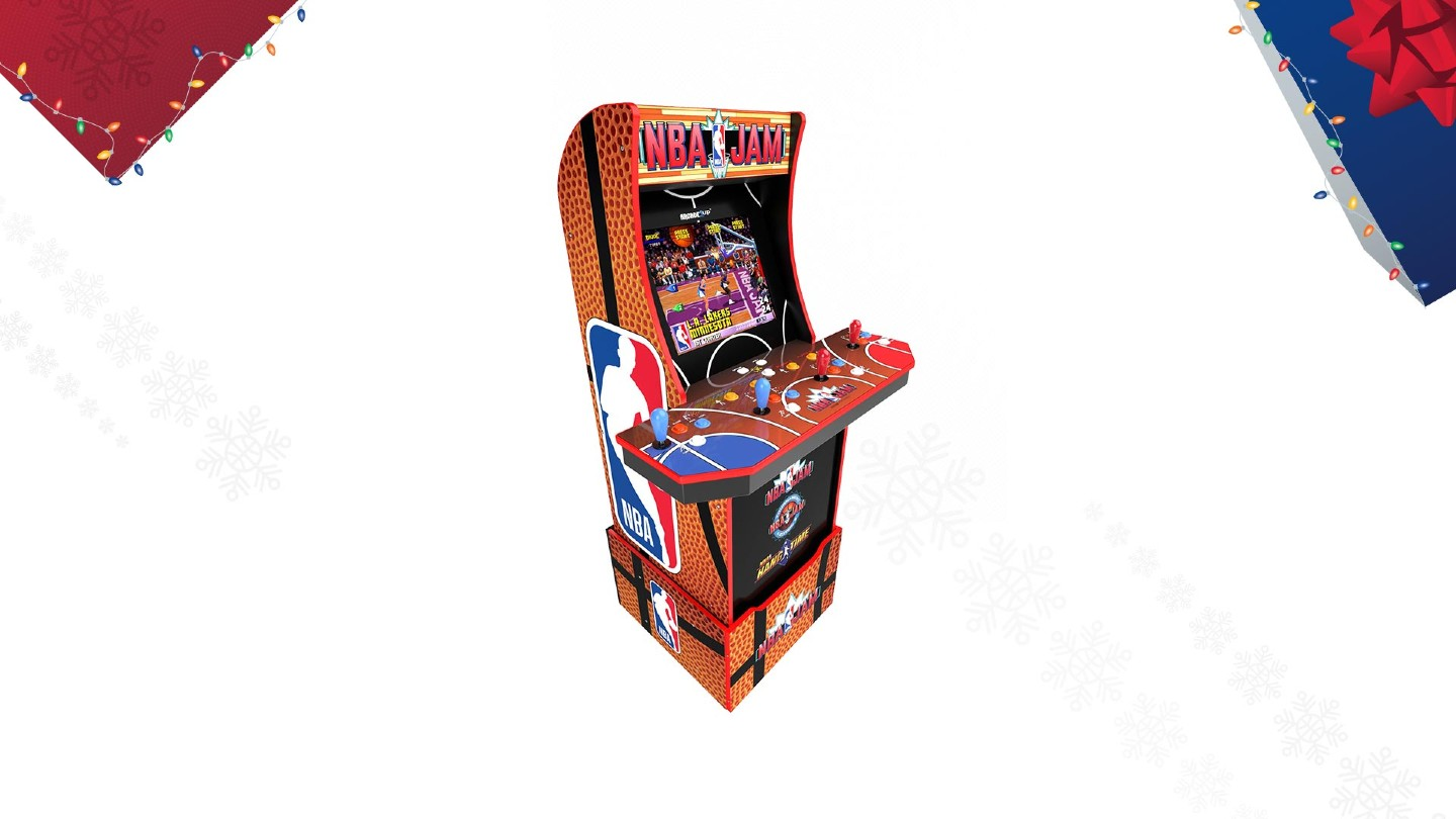 NBA Jam Arcade Cabinet From Arcade 1up
