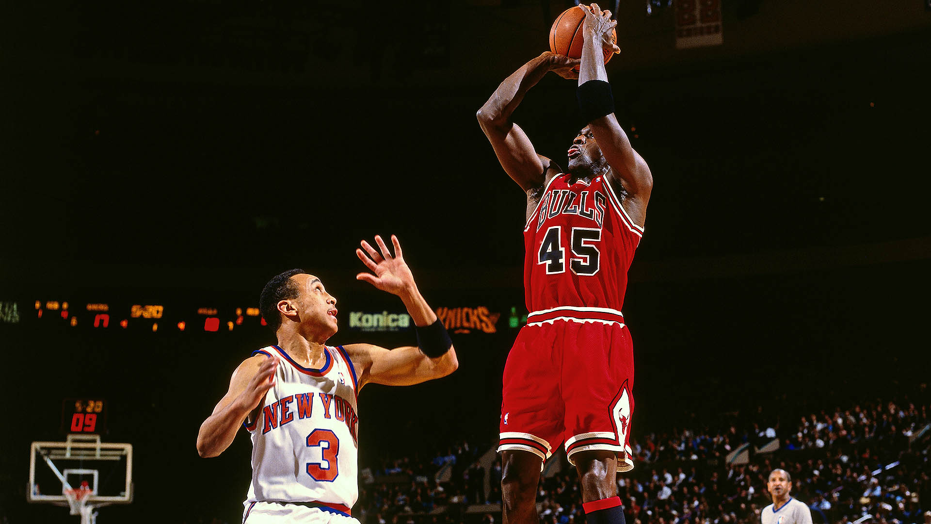 Top Moments: Double-nickel game proves Michael Jordan is officially back