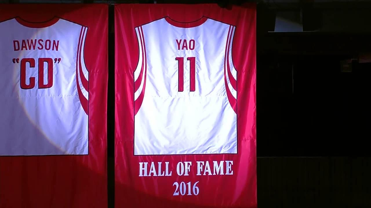 A joyous night in Houston for Hall of Famer Yao Ming