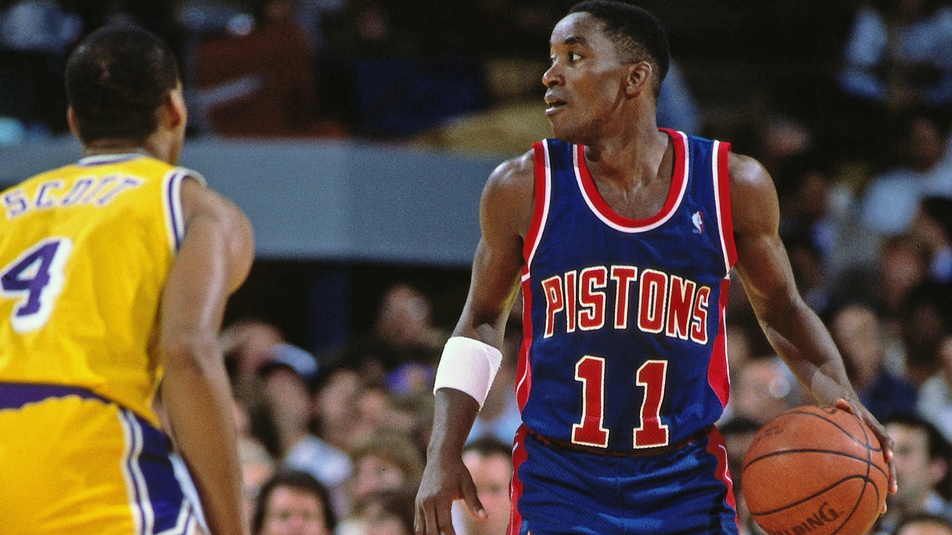 Top Finals Moments: Isiah Thomas scores 25 on a bad ankle