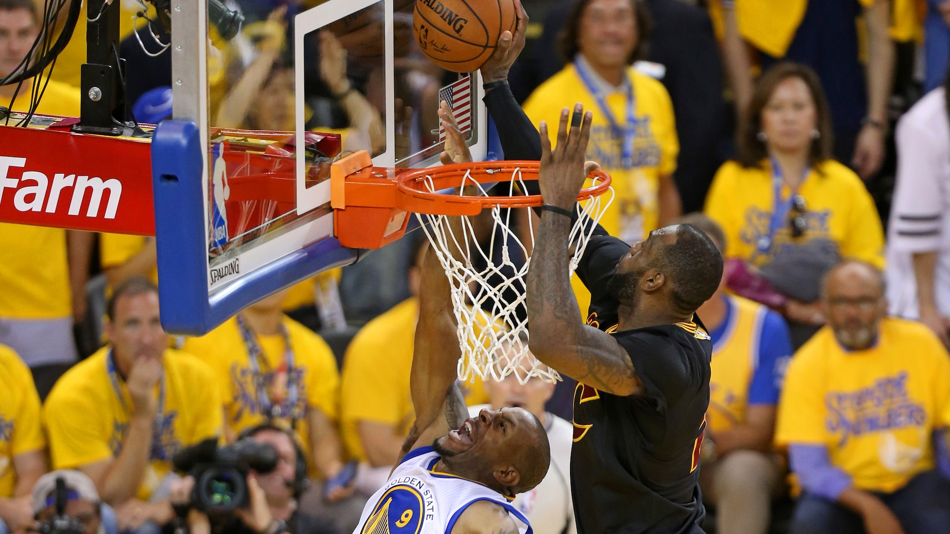 Top NBA Finals moments: LeBron James' chasedown block in Game 7 of 2016 Finals