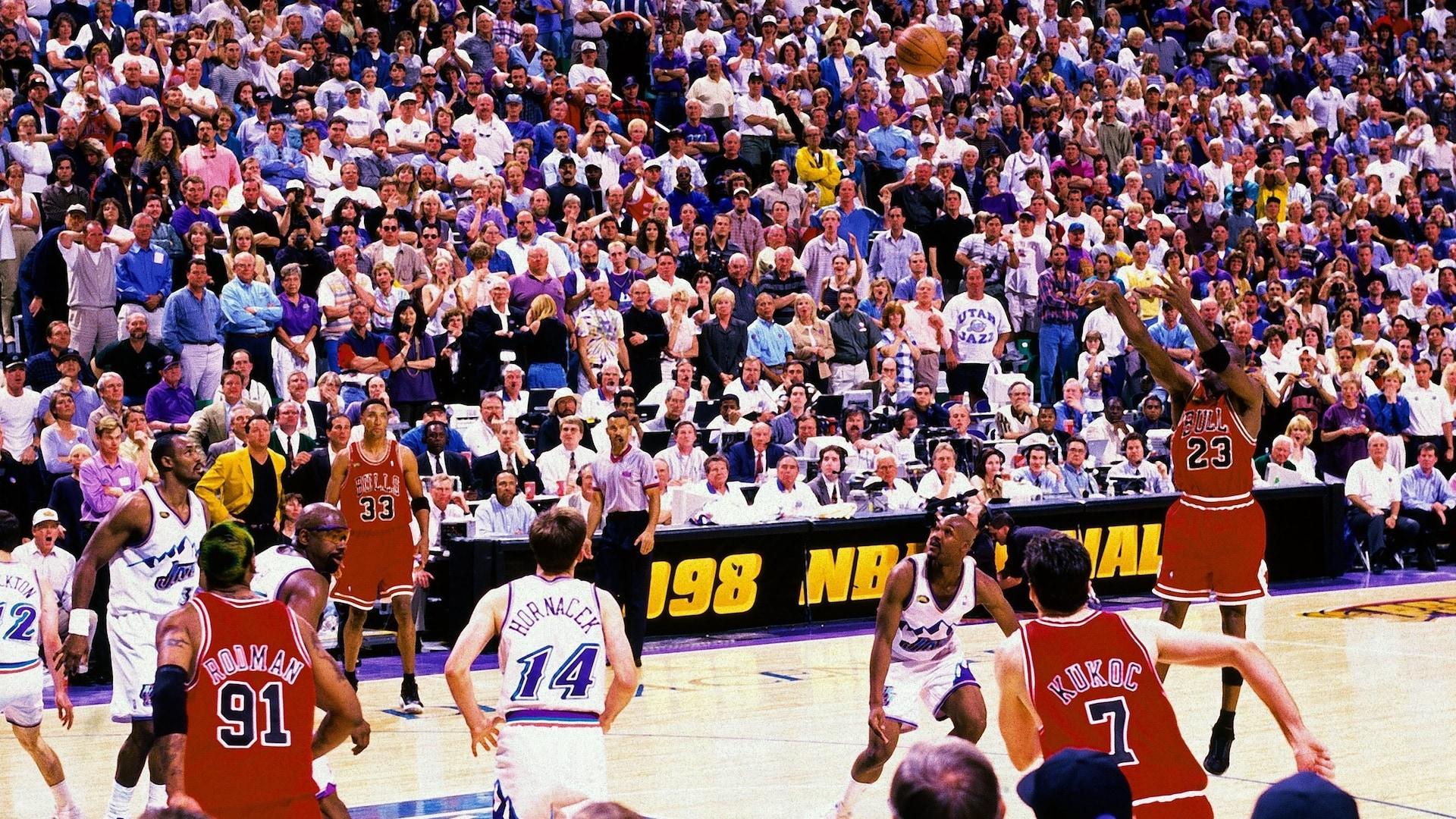 Top NBA Finals moments: Michael Jordan's jumper seals 1998 title