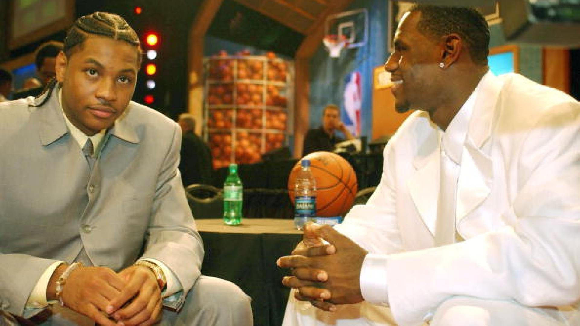 Legendary Moments: James, Wade, Bosh, Anthony make debut in 2003