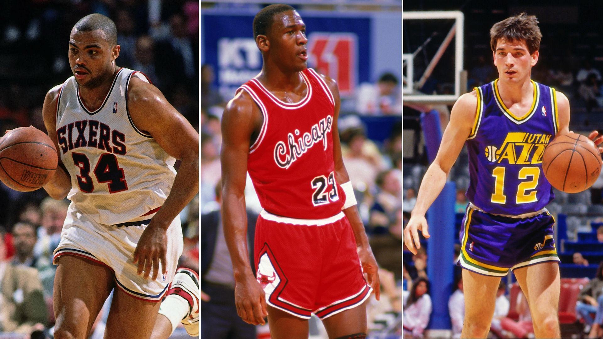 Legendary Moments In NBA History: Jordan, Barkley, Stockton debut in 1984