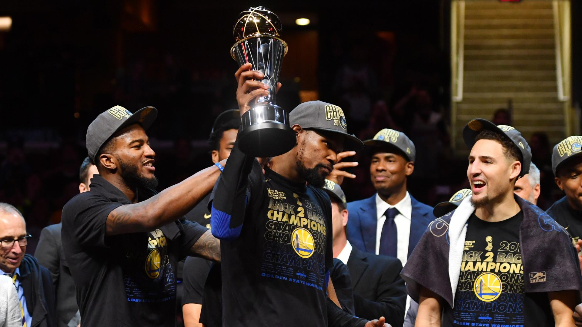 Top Moments: Kevin Durant wins back-to-back Finals MVPs