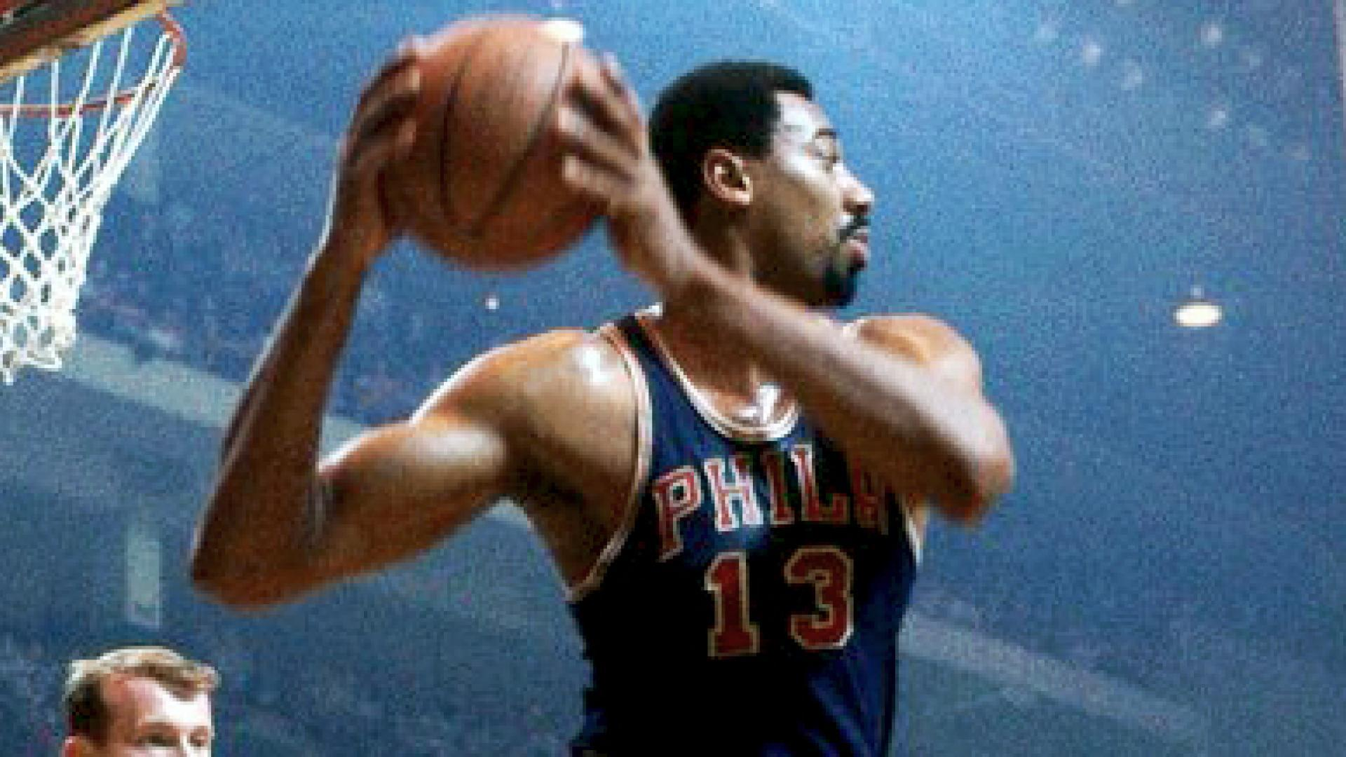 Legendary Moments in NBA History: Sixers retire Chamberlain's No. 13 jersey
