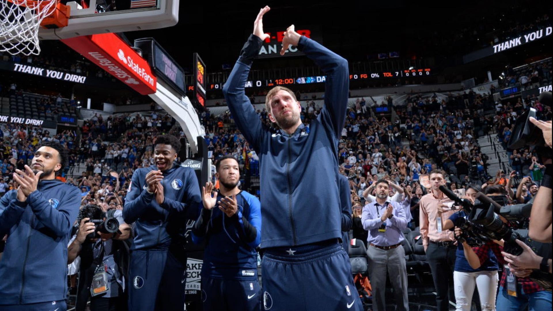 Nowitzki pens letter thanking Mavericks fans