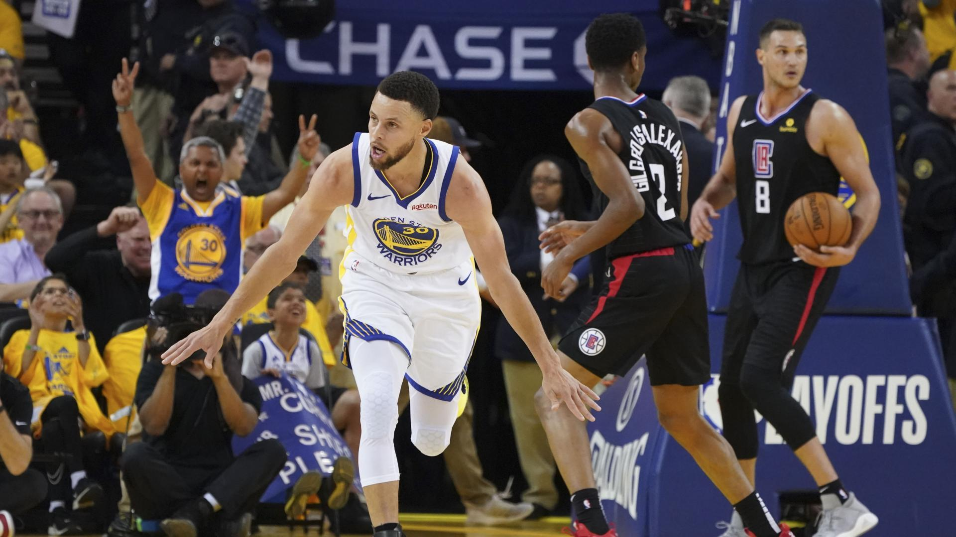 Curry passes Allen for most career playoff 3-pointers