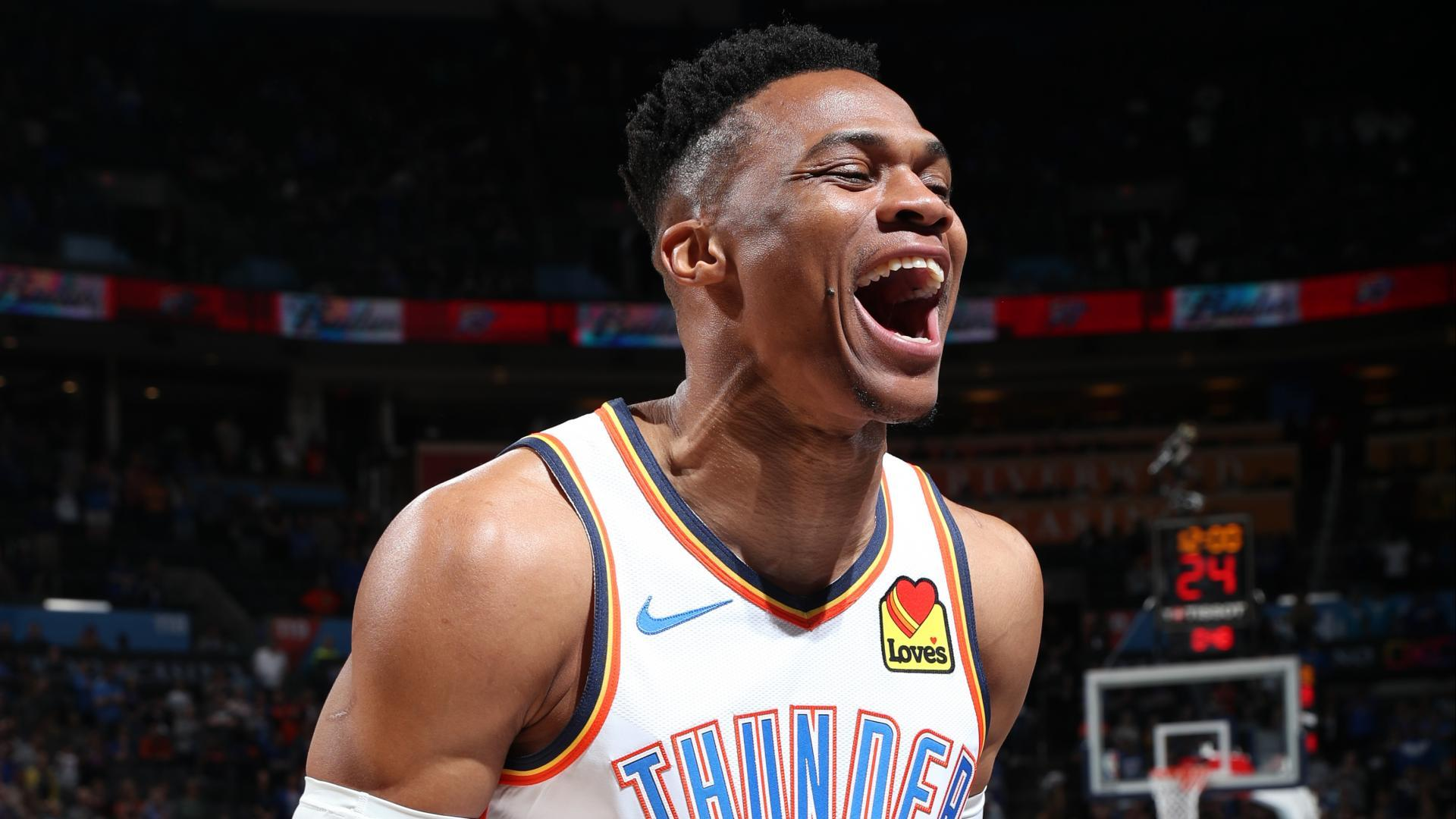 Westbrook averages triple-double for third straight season