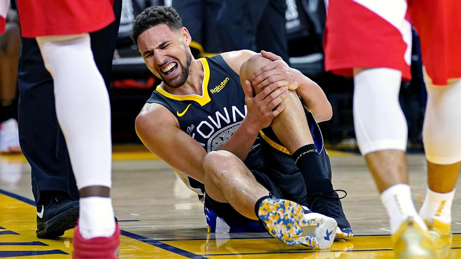 Klay Thompson tears ACL in Game 6 of Finals