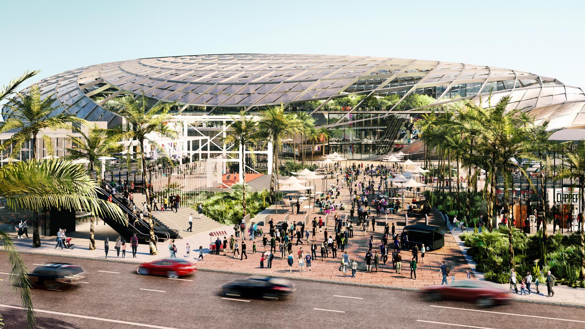 LA Clippers unveil plans for new Inglewood arena