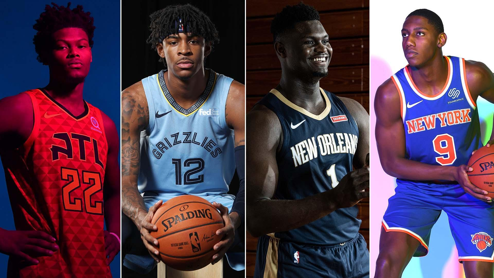Rookie Survey Zion Williamson Ja Morant Early Favorites To Shine In 2019 20 Nba Com