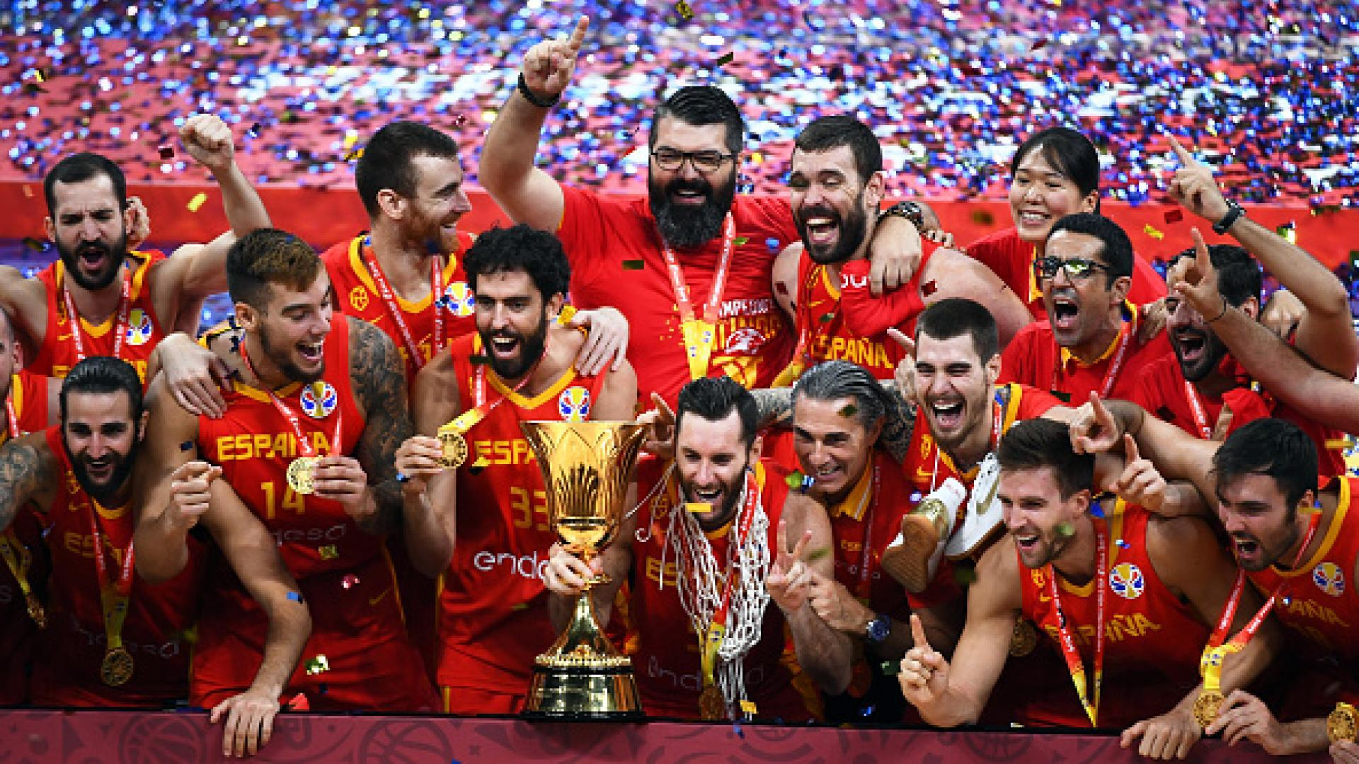 Ricky Rubio, Marc Gasol lead Spain past Argentina to win gold at FIBA World Cup