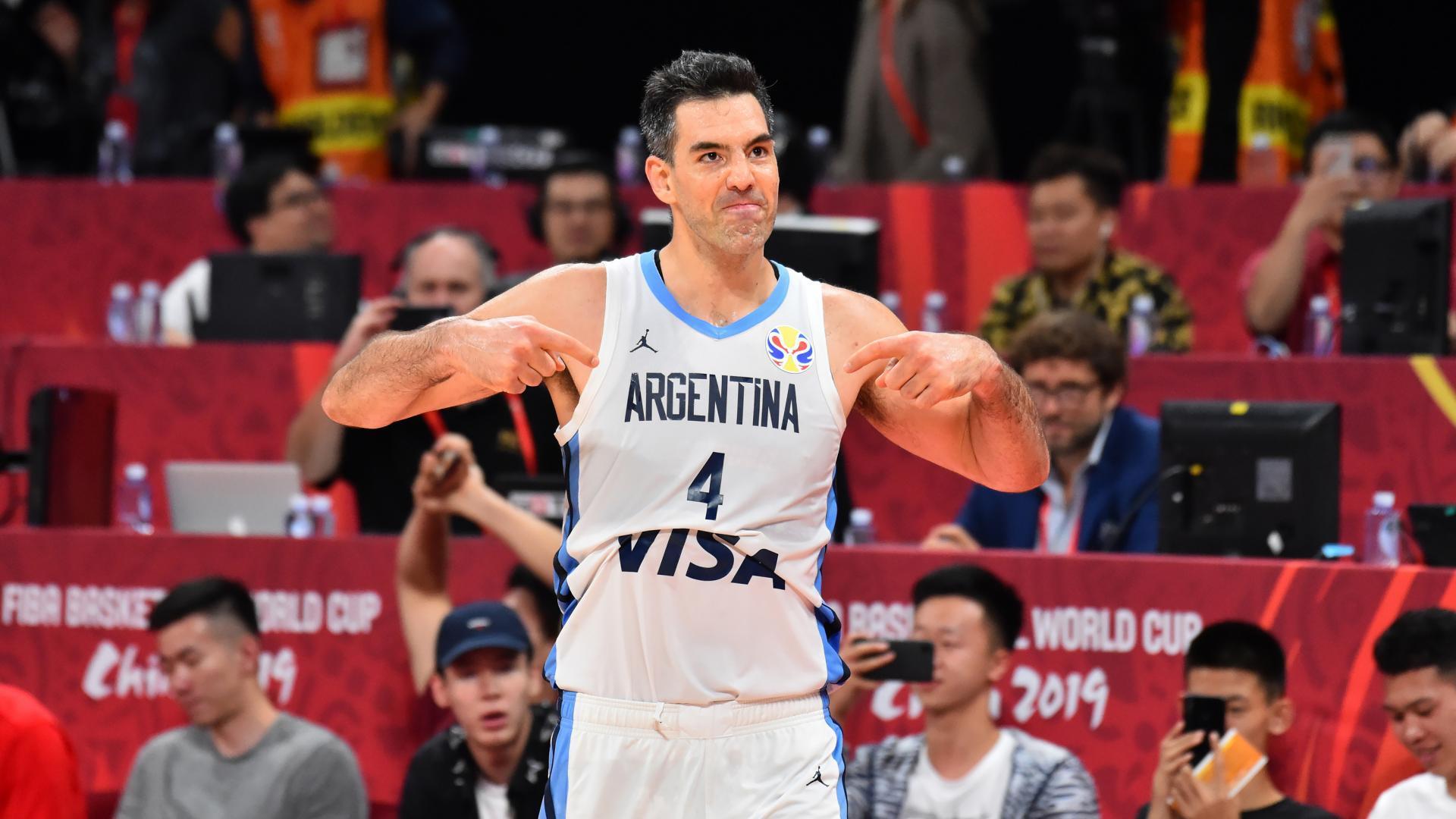 Luis Scola of Argentina