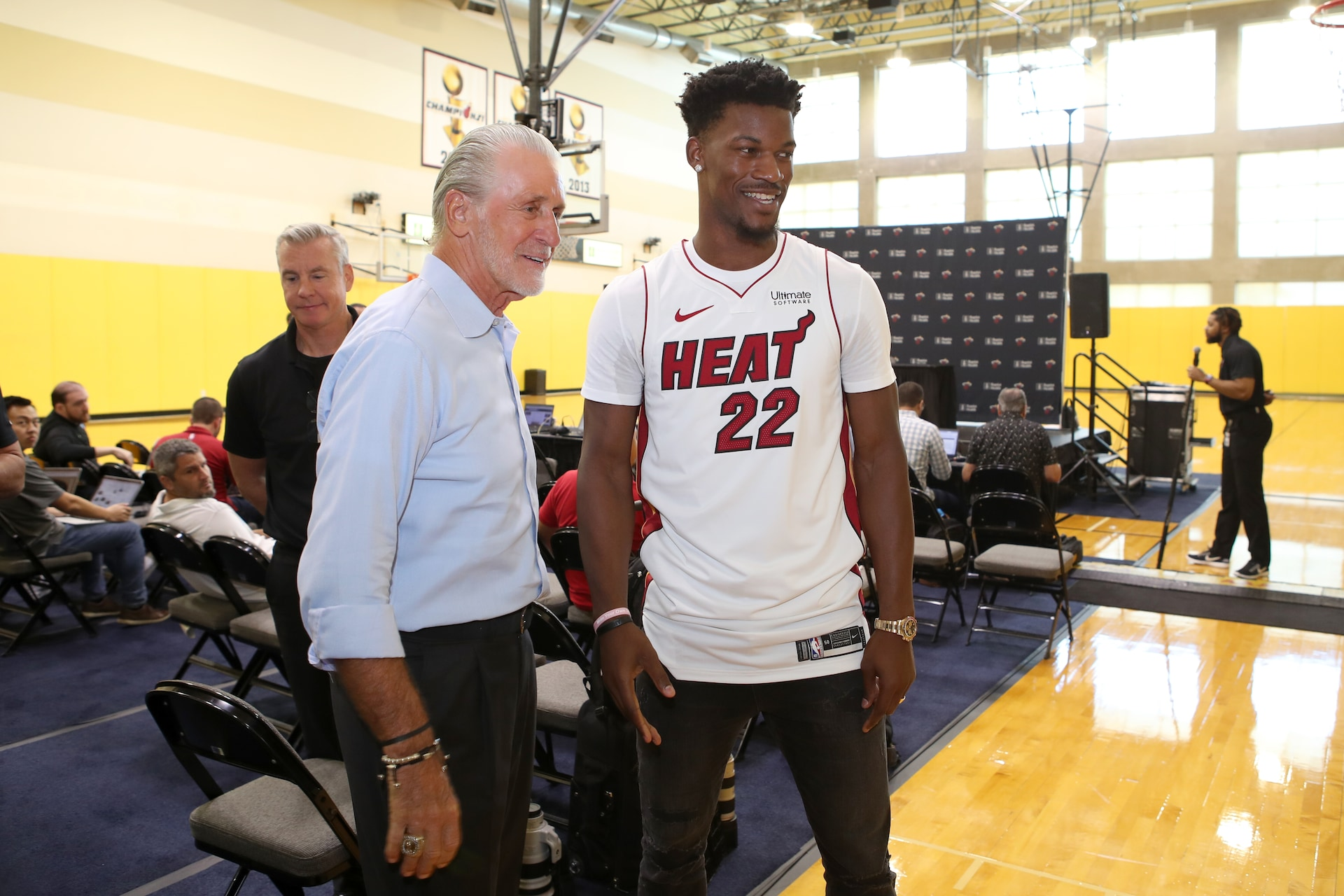 Pat Riley discusses Heat future, plans for keeping core intact