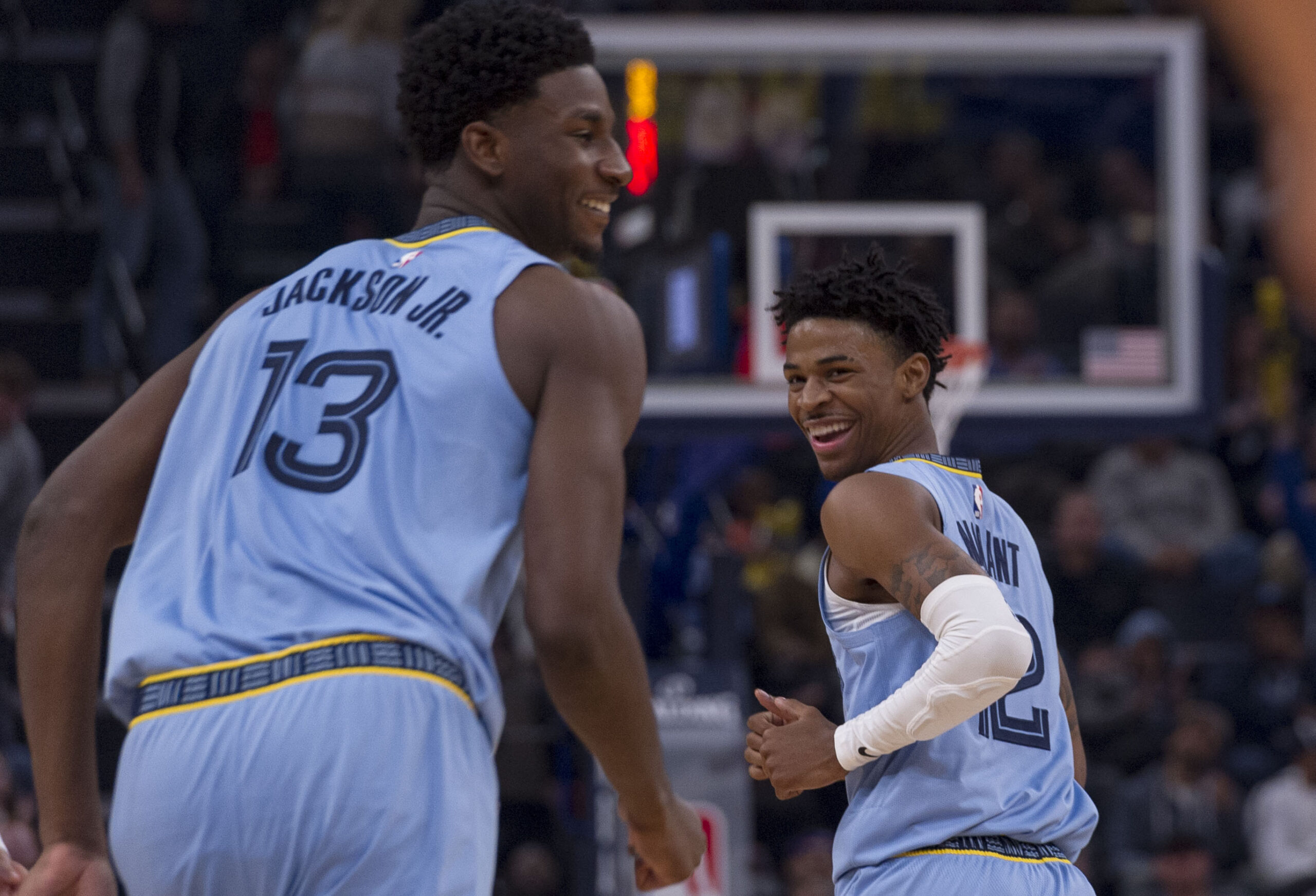 Grizzlies exercise options for Morant, Jackson, Clarke