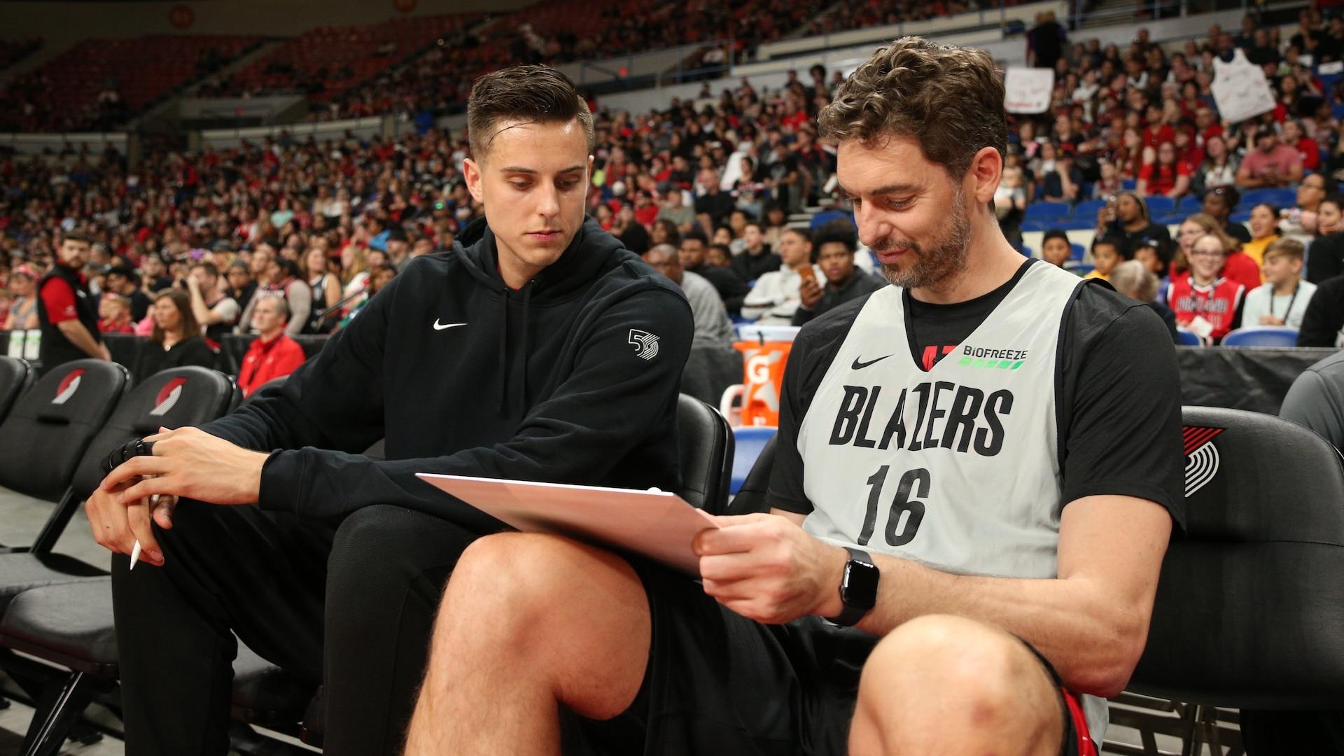 Pau Gasol to join Portland Trail Blazers coaching staff