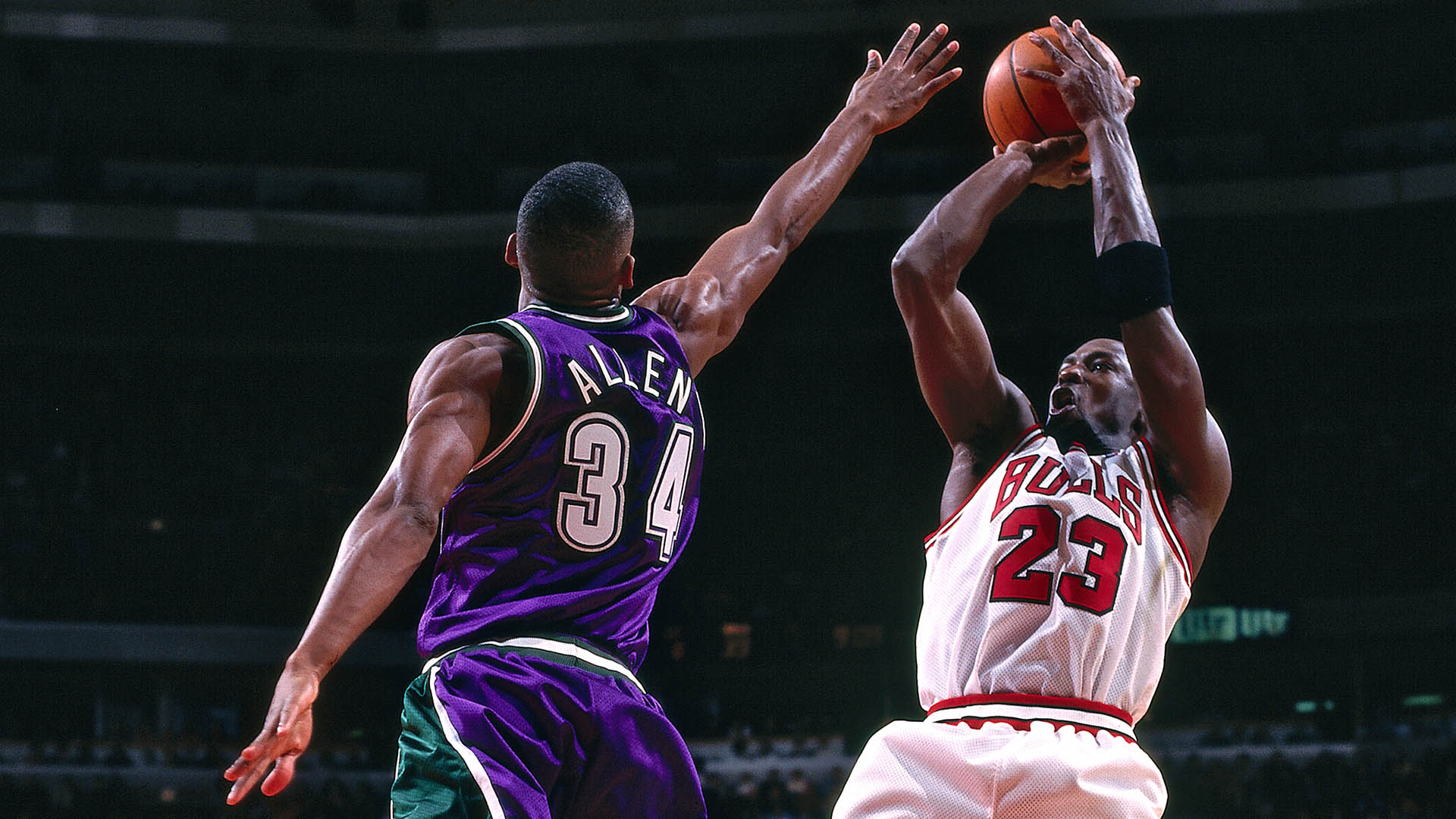 Michael Jordan's Signature Move: The Fadeaway