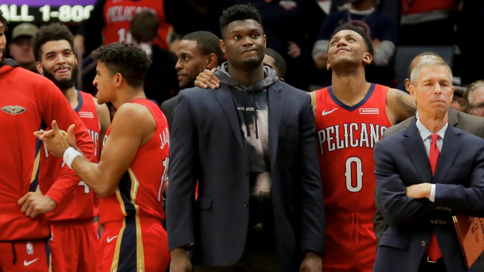 Kia Rookie Ladder: Zion Williamson continues to make progress with rehab