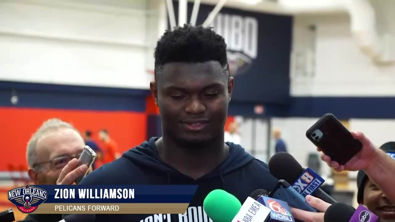 Zion Williamson sets the stage for his NBA debut