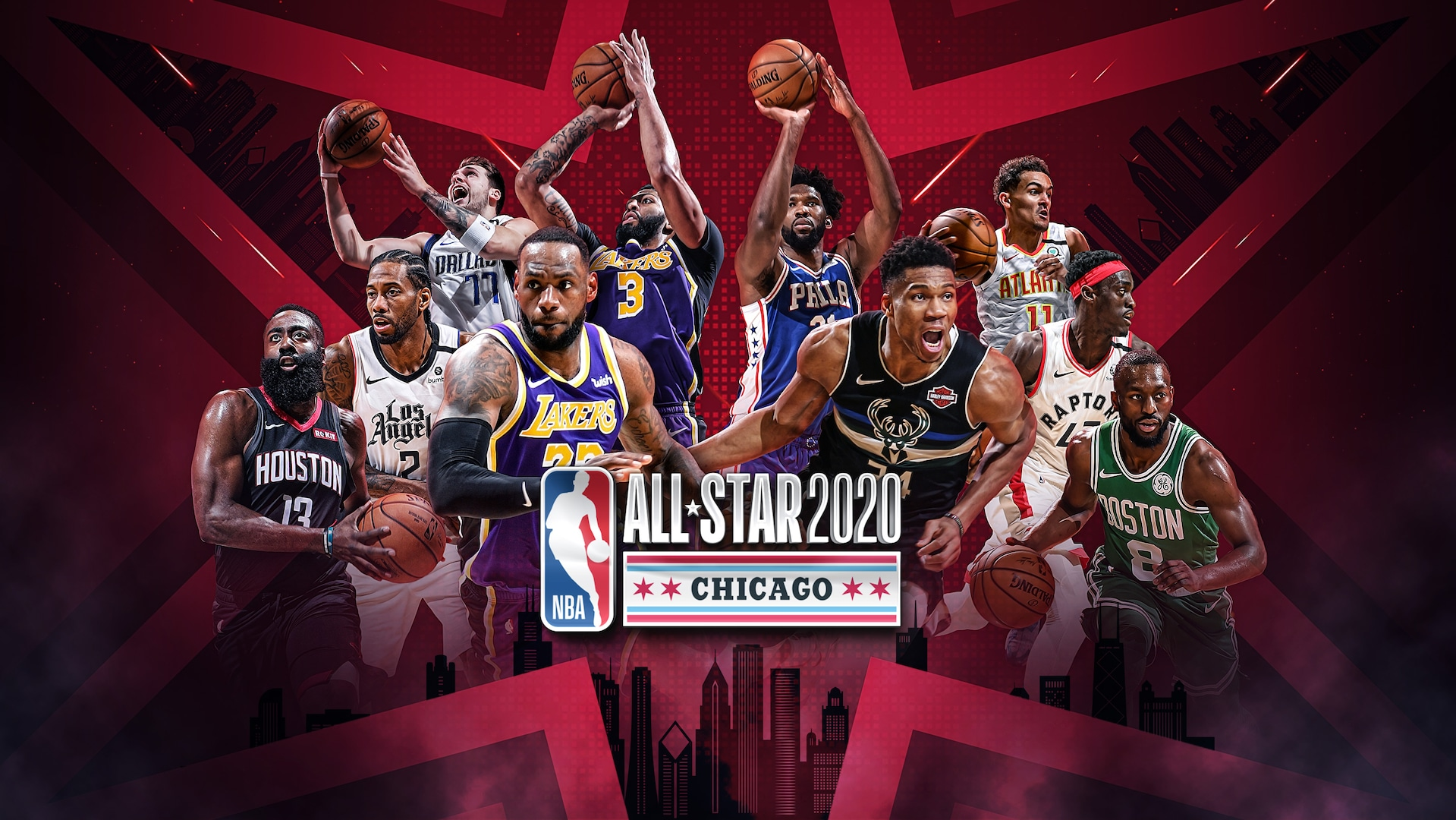 Captains LeBron James, Giannis Antetokounmpo headline starters for NBA All-Star 2020