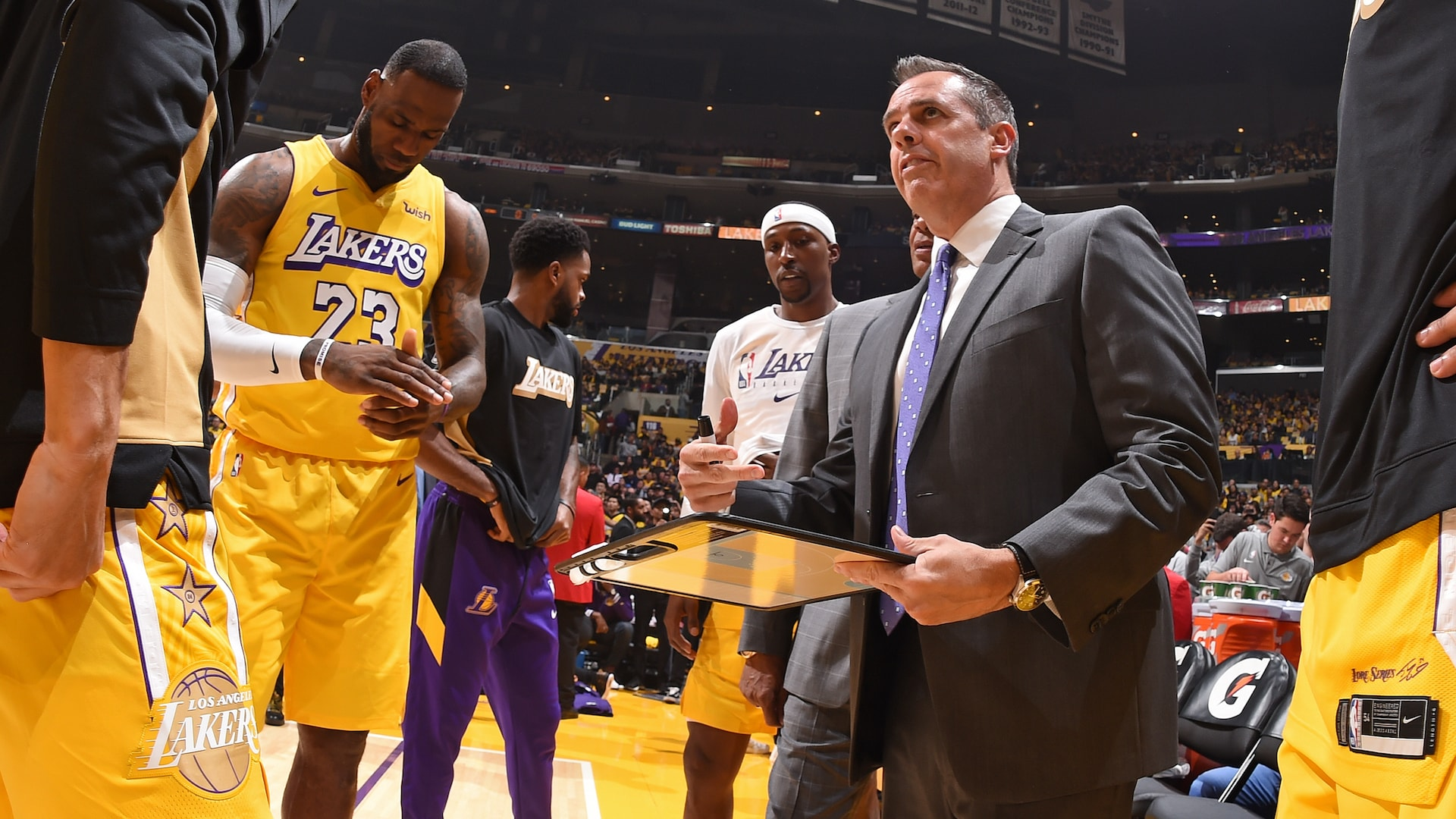 Lakers' Vogel to coach Team LeBron in 2020 All-Star Game