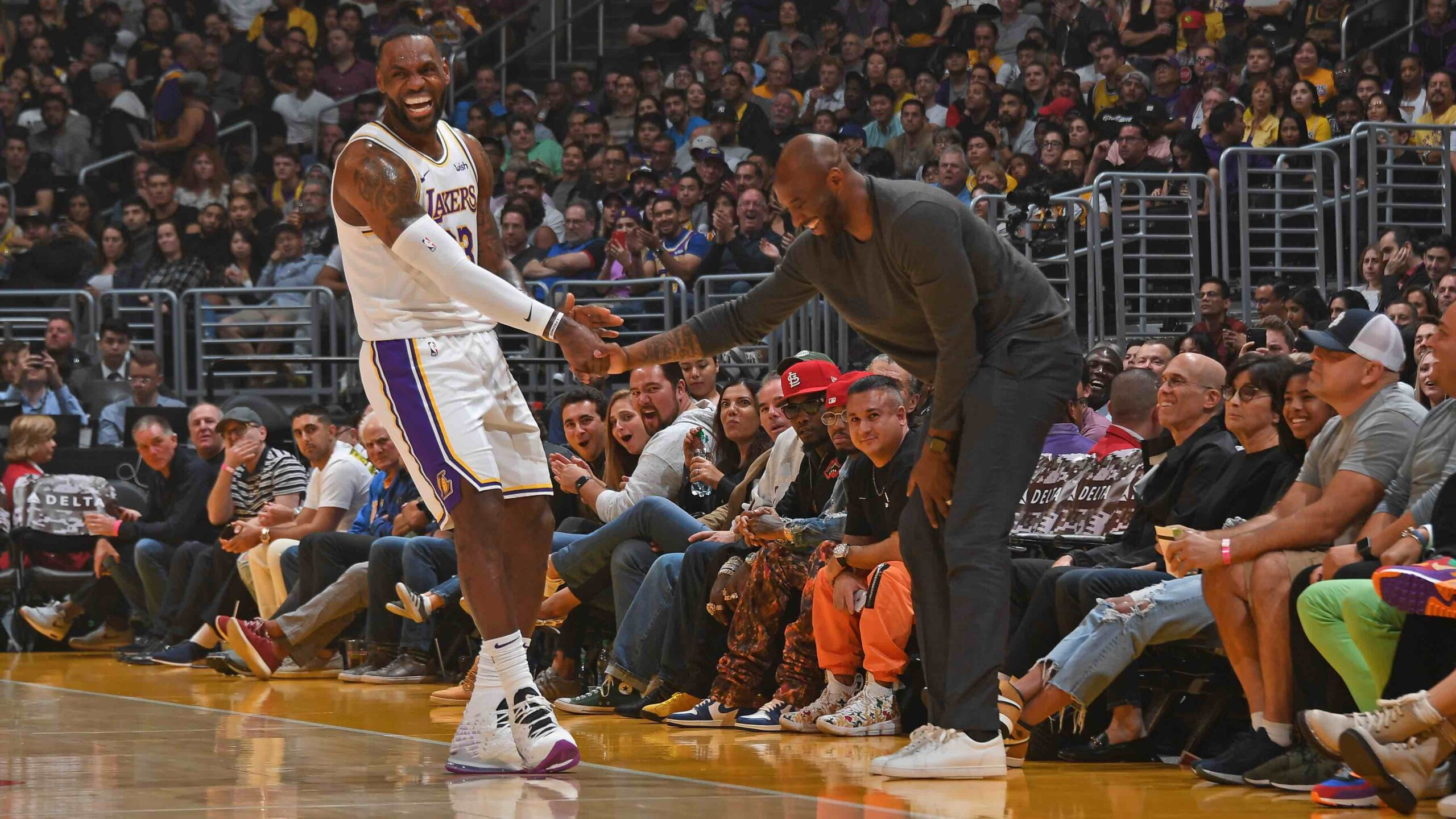 Kobe Bryant welcomes LeBron James passing him on NBA all-time scoring list
