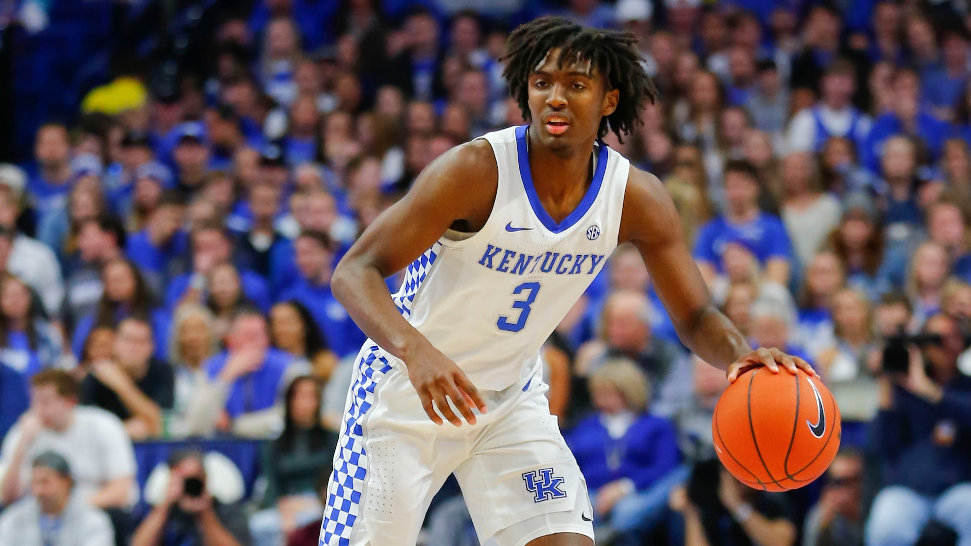 Kentucky's Tyrese Maxey showing he can do it all