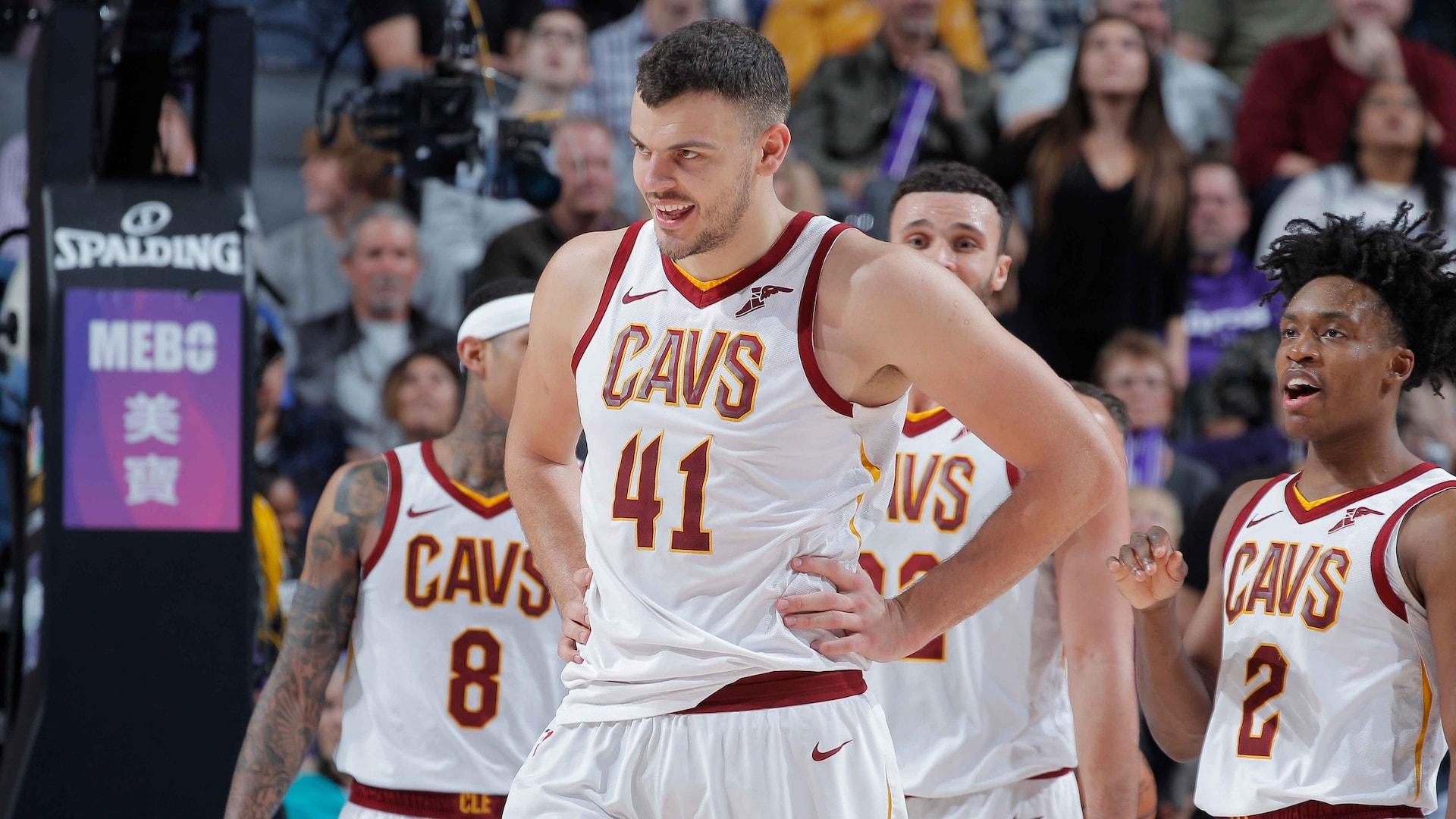 Cavaliers' Zizic out indefinitely with vertigo-like symptoms