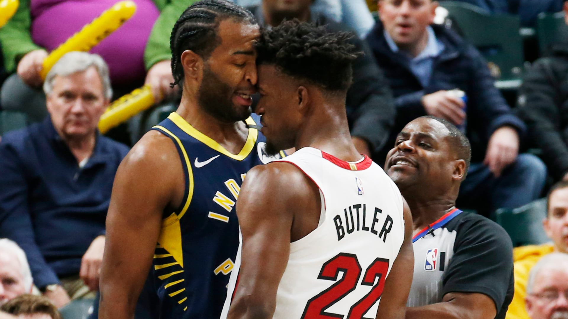 NBA fines T.J. Warren, Jimmy Butler for roles in altercation