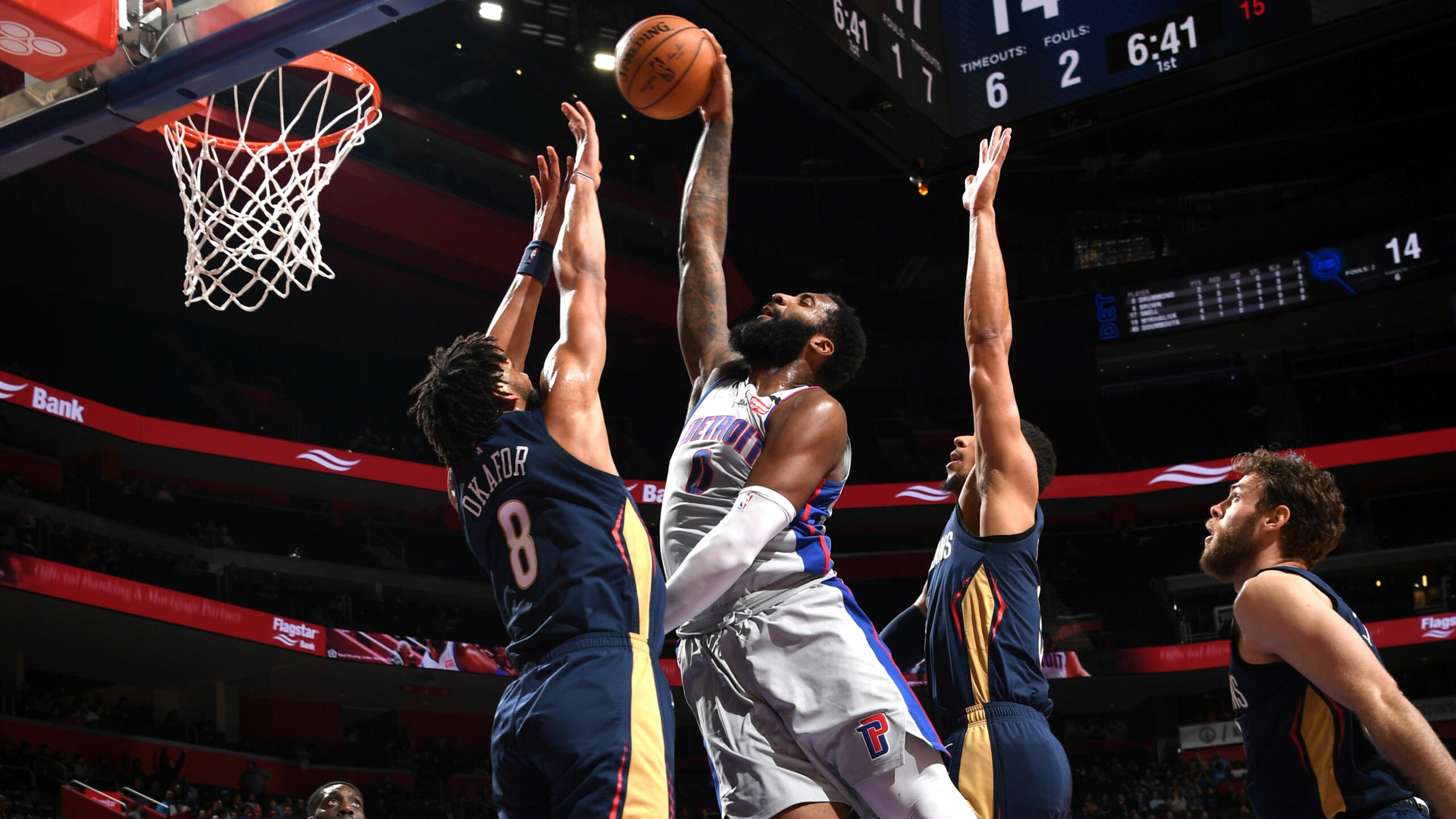 Pistons deal Andre Drummond to Cavaliers