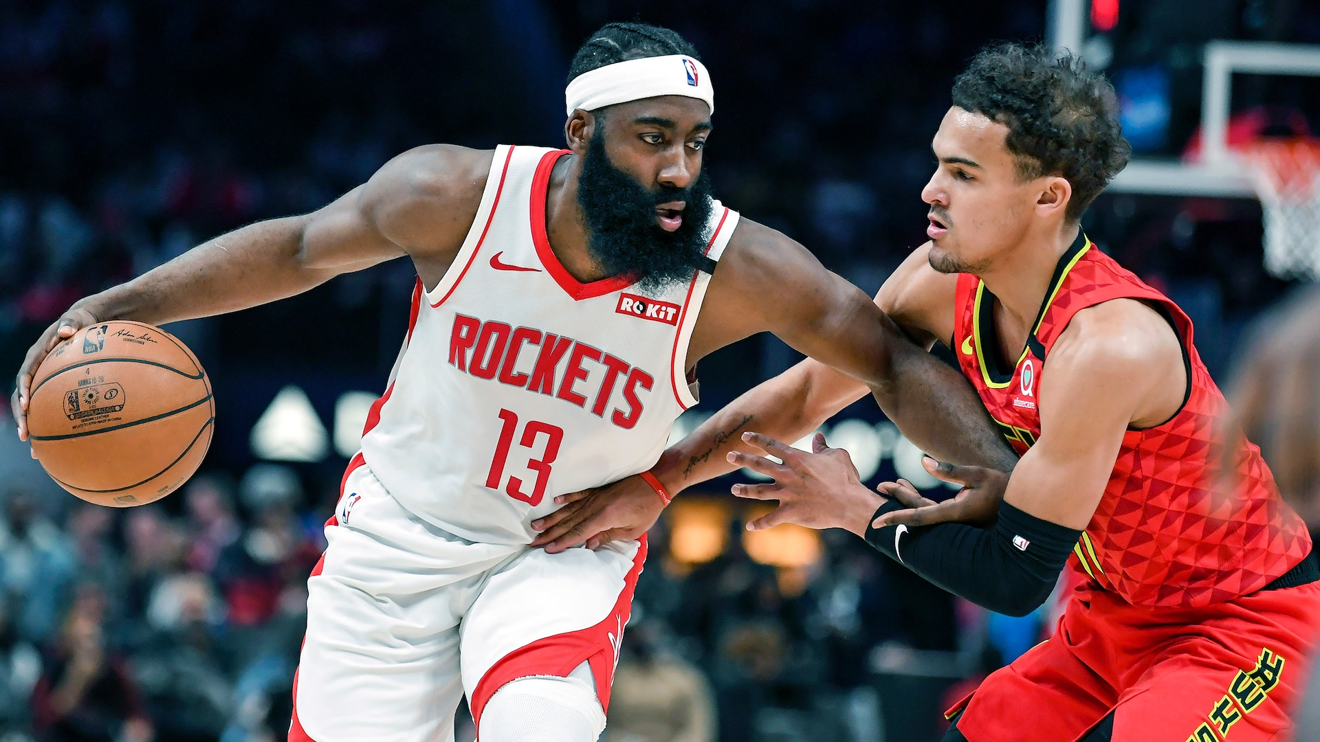 James Harden, Trae Young become first opposing players to post 40-point triple-doubles