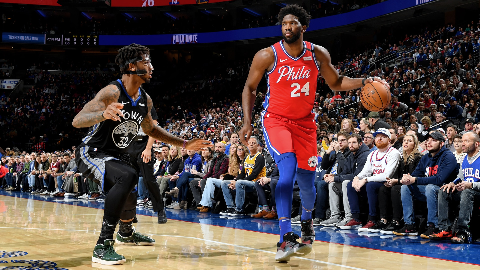 Joel Embiid returns from torn ligament in hand