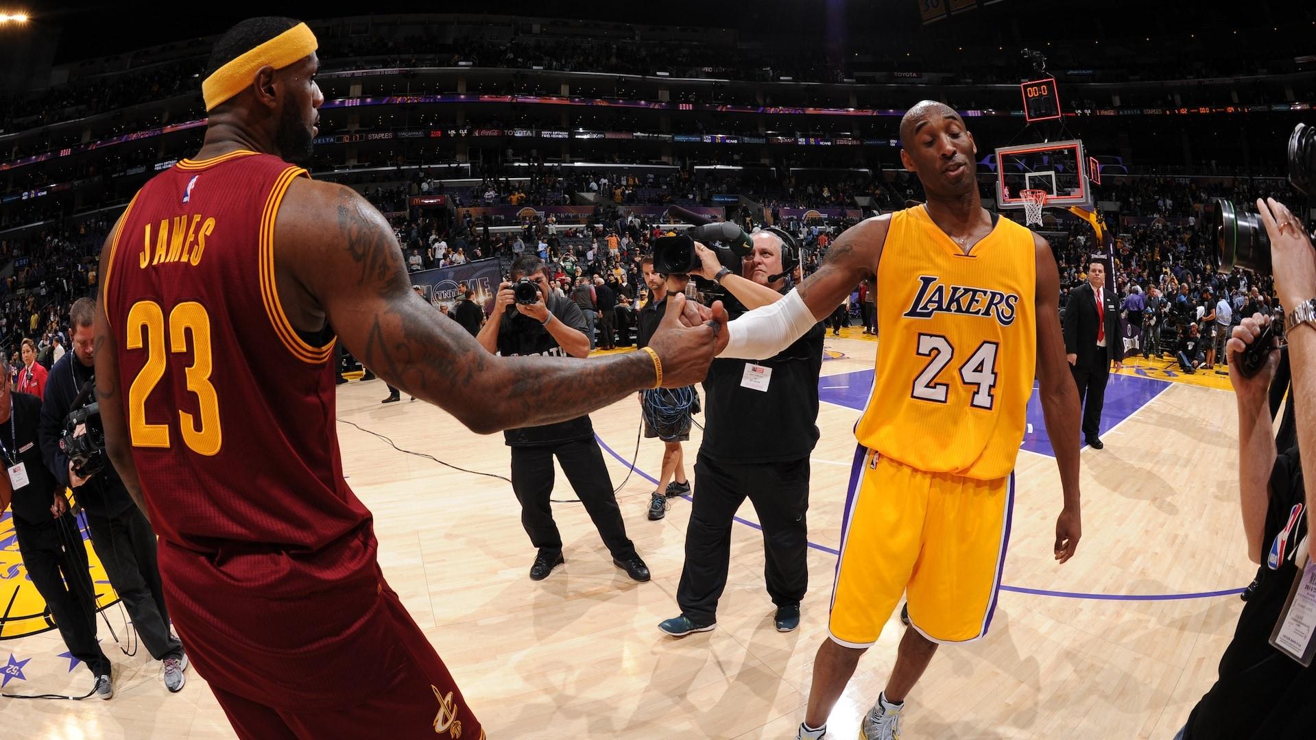 Who has the edge? Statistics help break down Kobe vs. LeBron debate