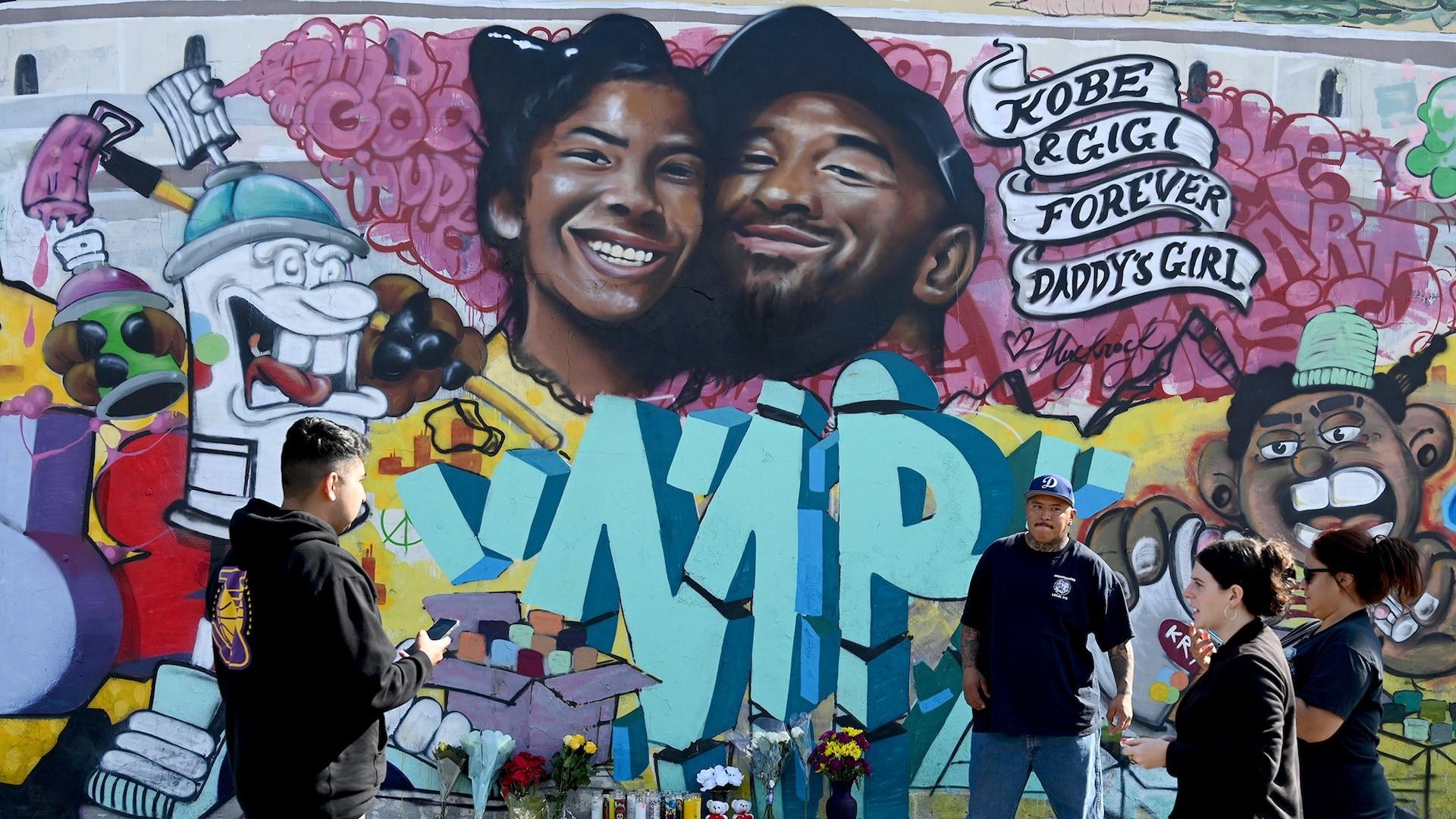 Kobe Bryant's relentless determination resonated throughout Los Angeles