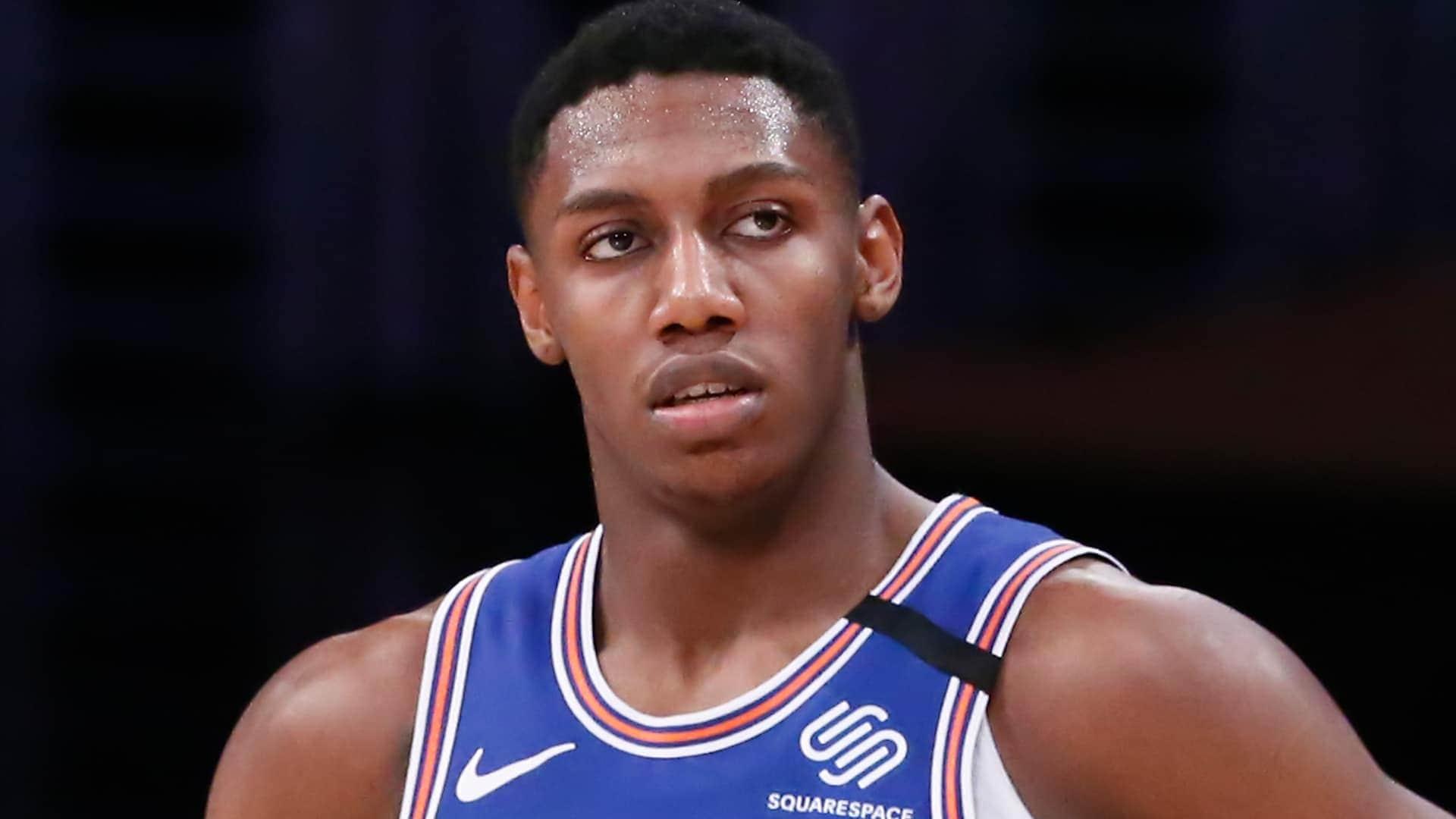 Knicks' RJ Barrett (ankle) will miss at least 1 week