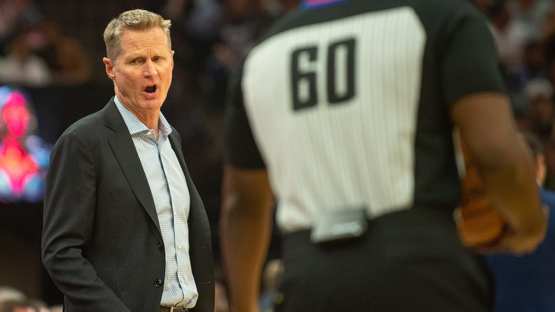 Steve Kerr draws $25K fine for actions after ejection