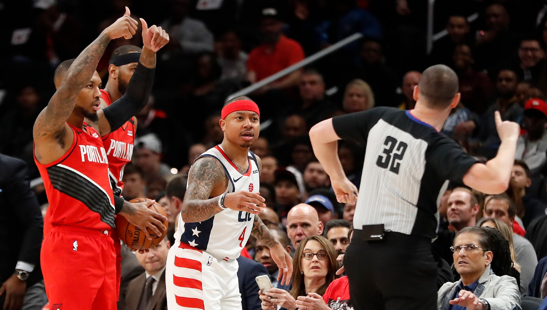 Wizards guard Isaiah Thomas fined $25,000 for making contact with official