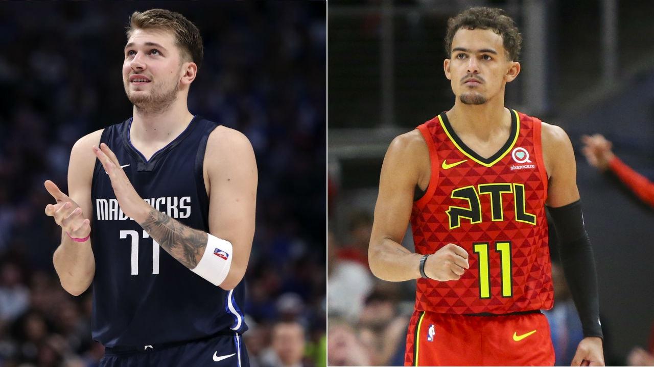 NBA All-Stars Luka Doncic and Trae Young headline U.S. vs. World showdown in 2020 NBA Rising Stars