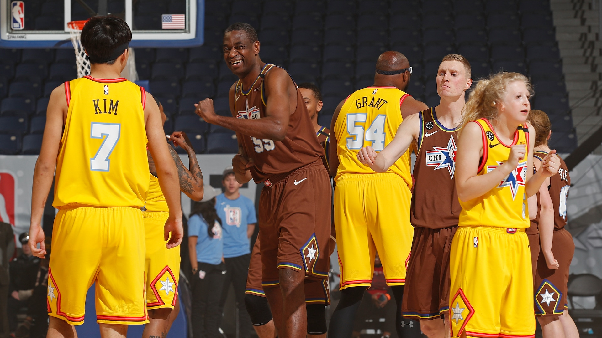 NBA, Special Olympics unite at All-Star