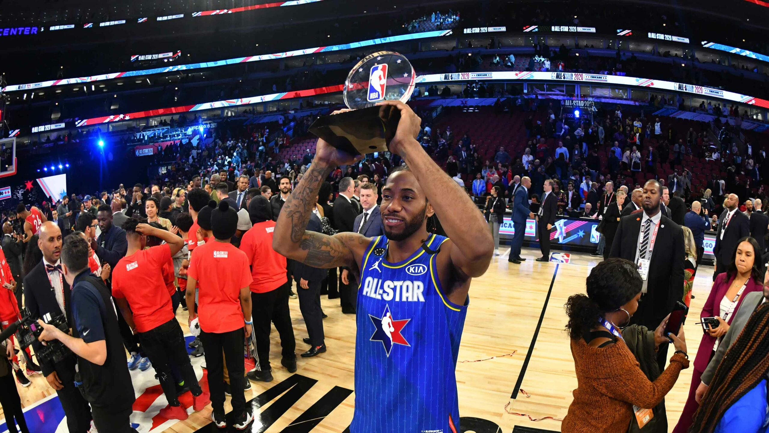Kawhi Leonard named Kia Kobe Bryant All-Star Game MVP