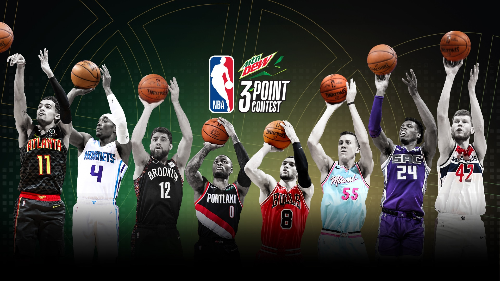 Lillard, Young, two new shots highlight 2020 MTN DEW 3-Point Contest