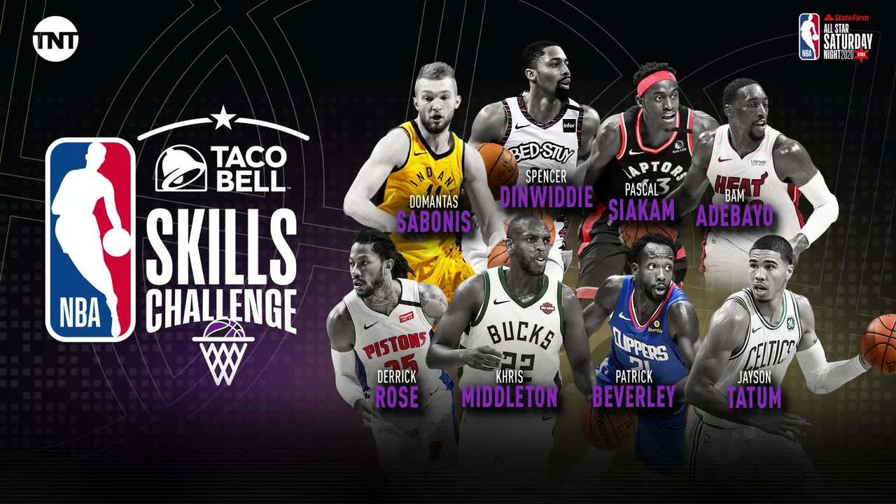 Four past champs highlight 2020 Taco Bell Skills Challenge field