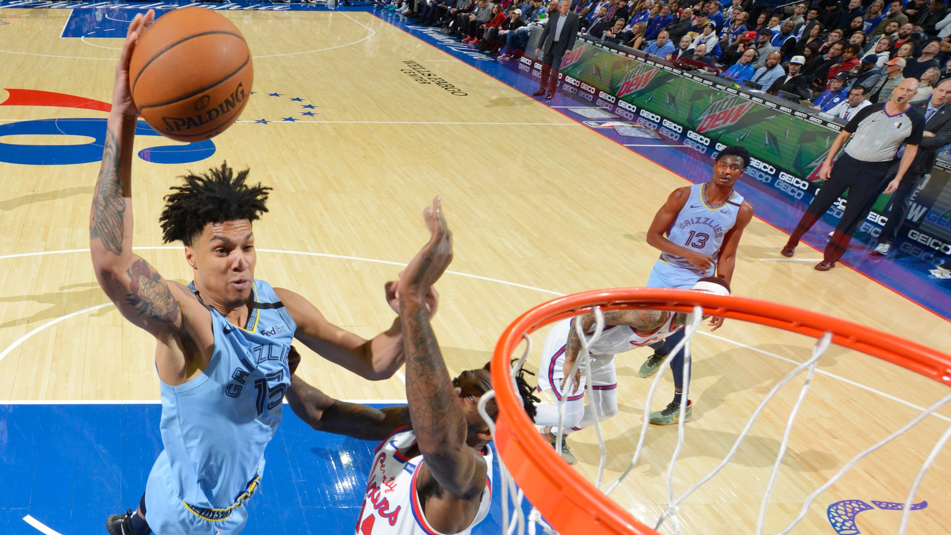 Grizzlies rookie Brandon Clarke out with injured quadriceps