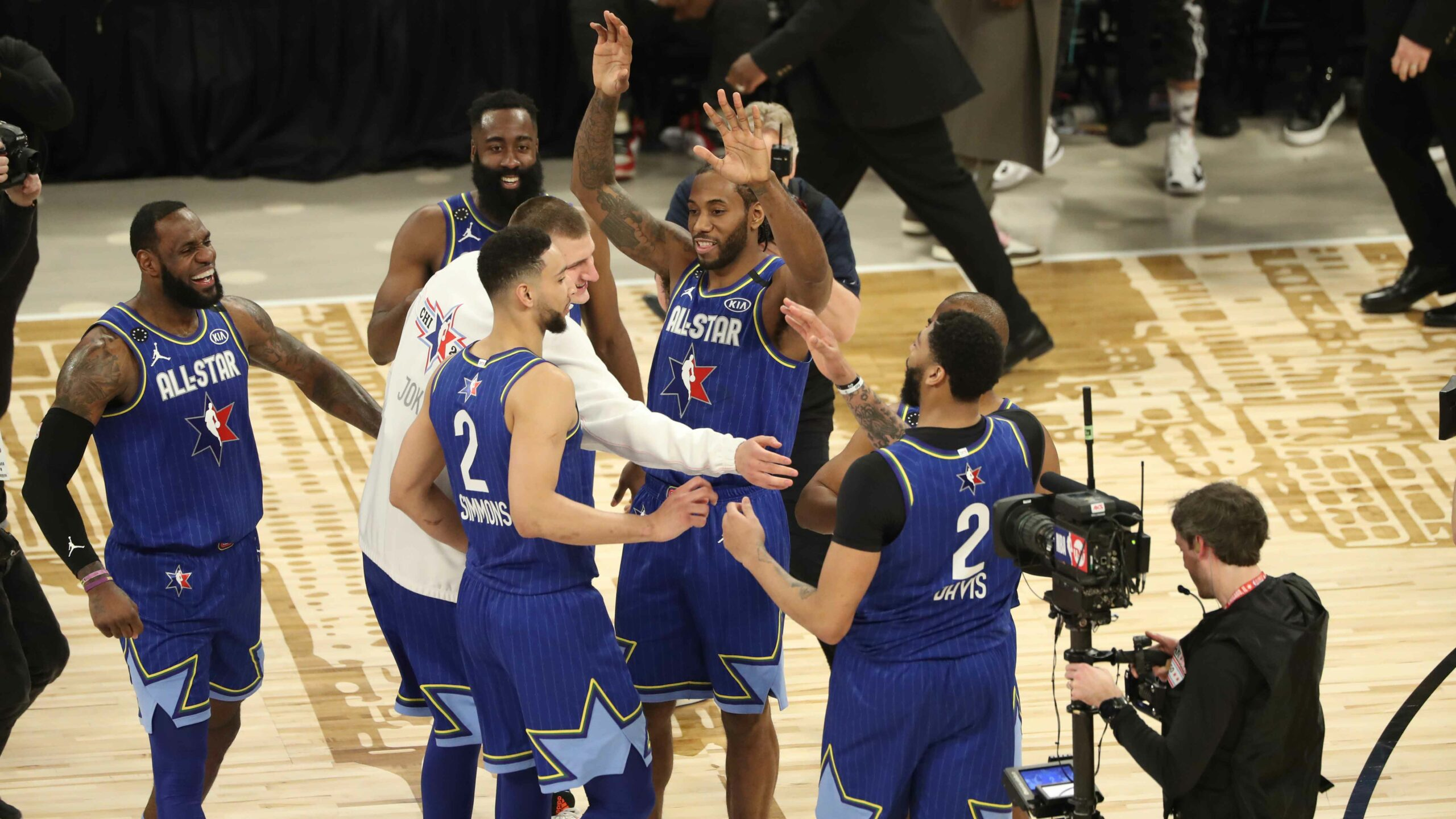 New look All-Star Game unleashes Kobe Bryant-level intensity in Team LeBron victory