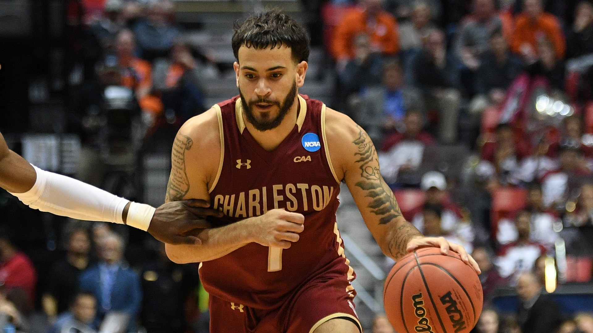 Charleston's Grant Riller stuffing the stat sheet and catching attention of NBA scouts