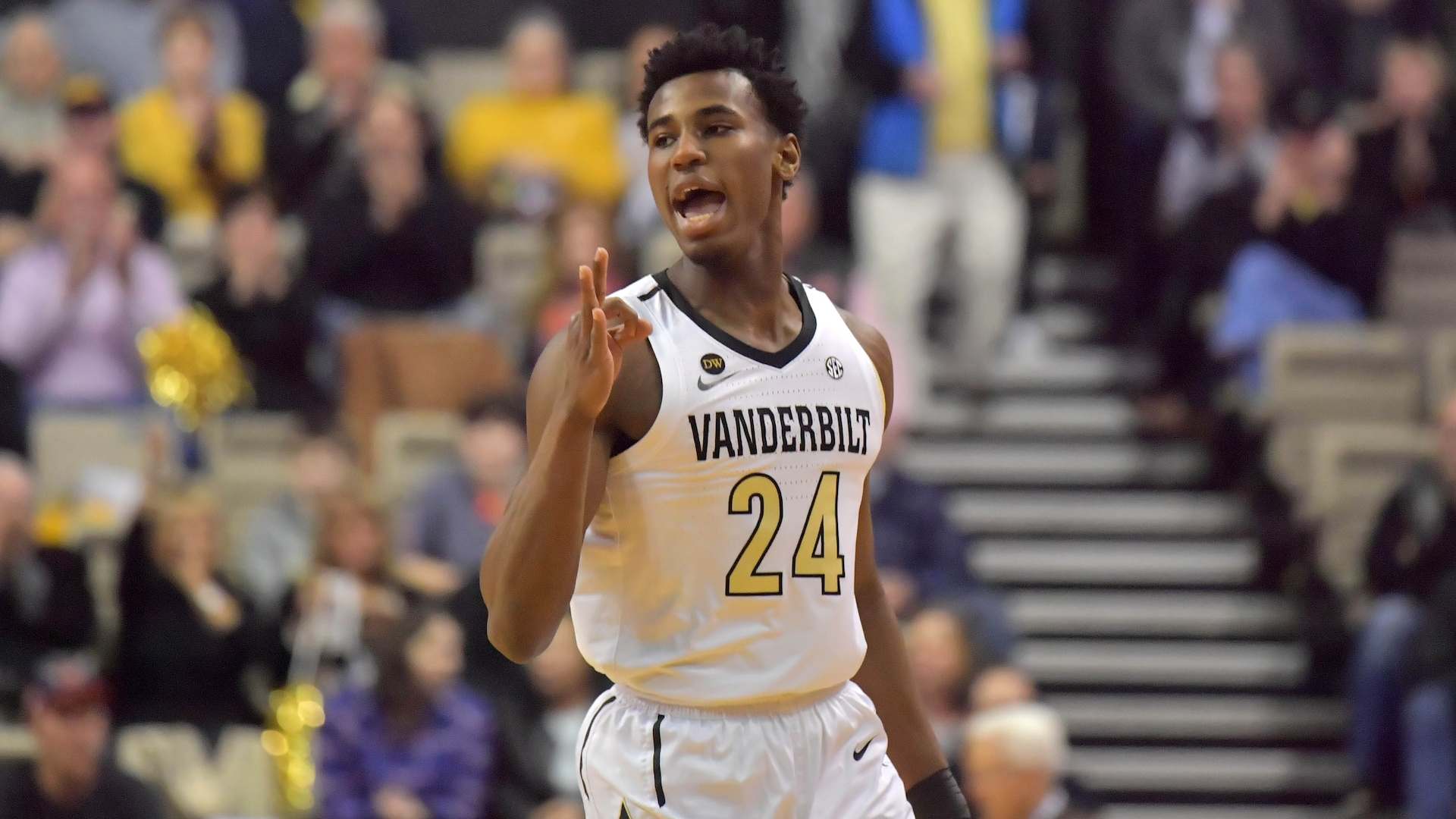 Vanderbilt guard Aaron Nesmith ready to take long-range touch to NBA