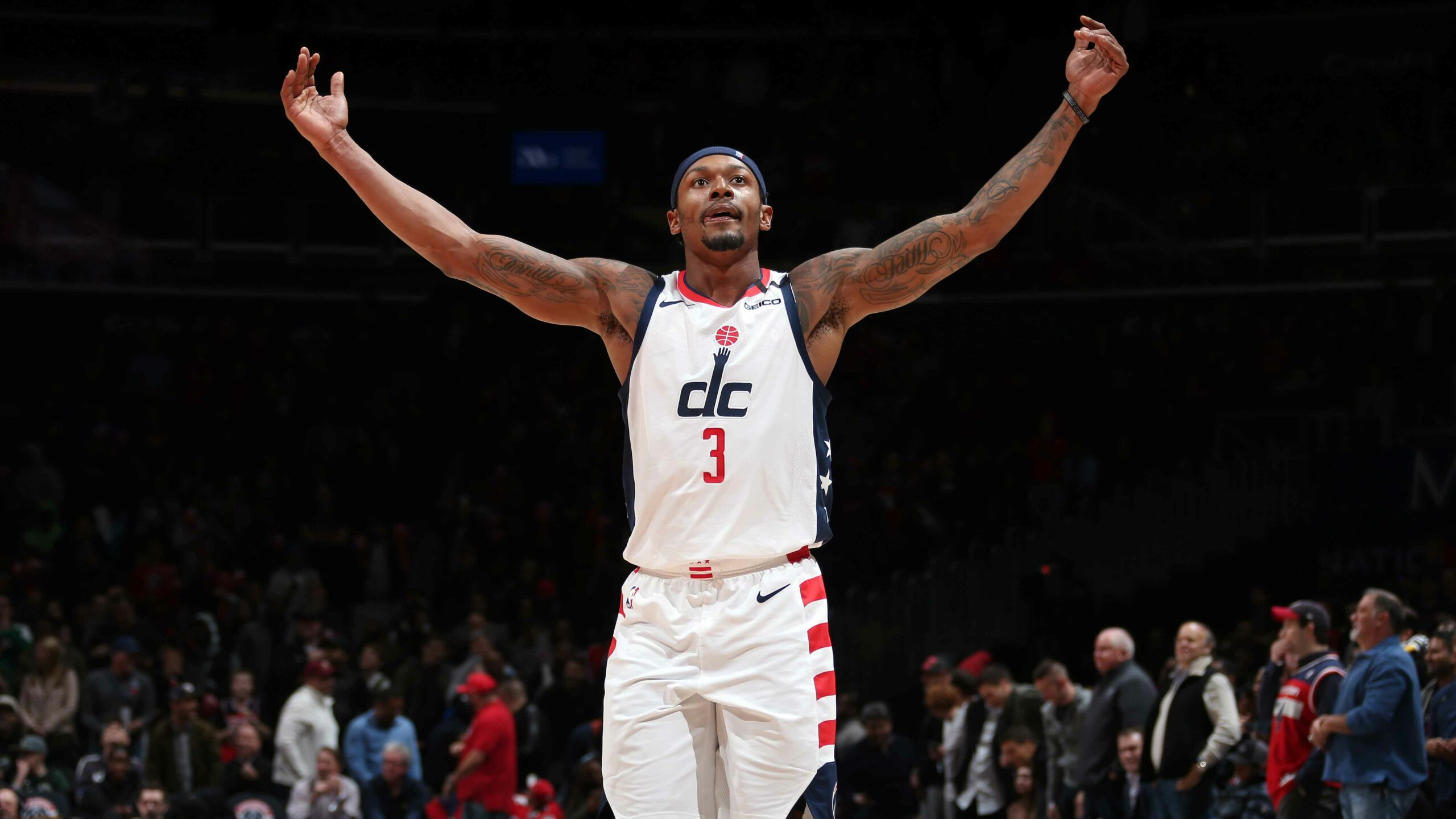 Bradley Beal 1st to score 50 in back-to-back nights since Kobe Bryant in 2007