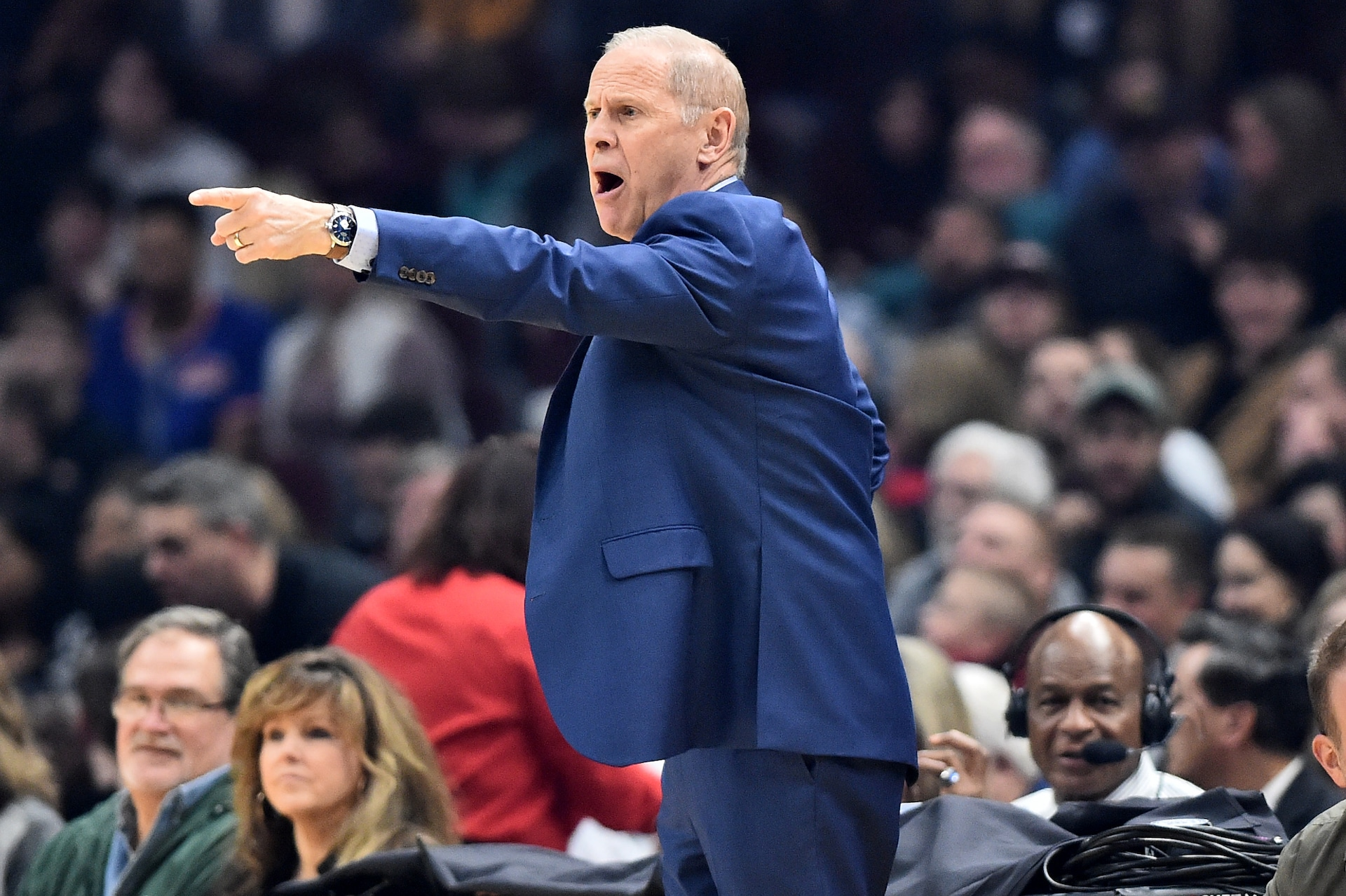 Reports: Cavaliers, coach John Beilein to part ways on Wednesday